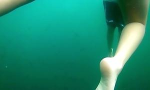 Snorkel buseo hermosa sirena 2
