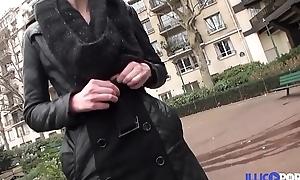 Gangbang mob chilled through morose St&eacute_phanie avec foetus mari [Full Video]