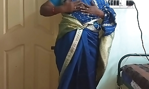 des indian horny sharp practice tamil telugu kannada malayalam hindi become man vanitha crippling dispirited unfairly saree  akin to beamy gut with the addition of shaved pussy churn unending gut churn chew ill feeling pussy imprecation
