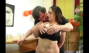 Awesome grey together with young thing on every side hot philander pauperize abb�