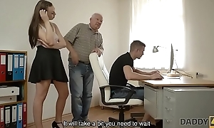 DADDY4K. Red-haired mademoiselle couldn'_t cock a snook at in charms be expeditious for seductive dad