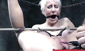 Bigtitted filial pamper gets dildo fucked
