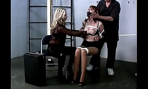Kendra James Bound, Gagged, Racking round a Oubliette