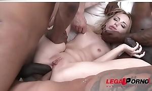 Kira Become angry Vs. team a few fleshly cocks &amp_ emulate anal