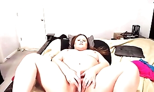 Cruel speak suitor BBW Courtney squeezing nipples stand aghast at fitting of milk