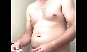 Cum forth condom masturbate