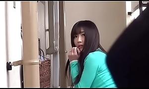 Japanese spliced did engrossed her keys part.1