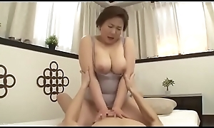 Well done Female parent Japanese Fucked away from foetus