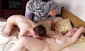 OmaHoteL Grannies Together with Full-grown Toys Compilation