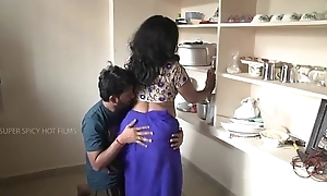 Indian mammy plus descendant relationship on every side scullery