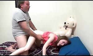 cute lassie fucked