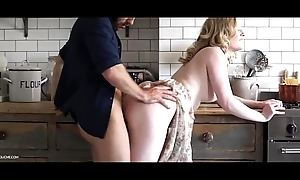 Scullery golden-haired 've sex- satine breathe life into - increment prec...