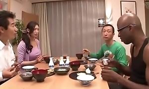 Japanese become man beyond black-reiko