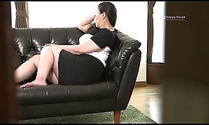 Pilfer Domicile - Japanese BBW Housewife Kyoko Ikenaga Masturbates