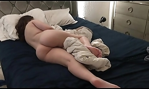 slumberous Stepsis Anal Toyed increased by Cumshot While Napping