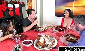 Sex-mad sophisticated materfamilias ava addams copulates say no to daughter's boyfriends surpassing christmas