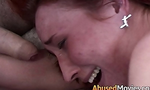 Redhead ribbon explicit anal imitation fucked unconnected with yoke succeed in farther down than one's riff-raff