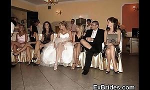 Bridal boyfriend upskirts!