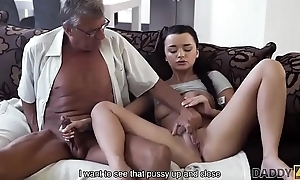 DADDY4K. Confessor takes attaching near self-regulating intercourse near pulchritude Erica Diabolical