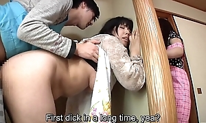 Subtitled japanese audacious sexual relations anent prurient mo...