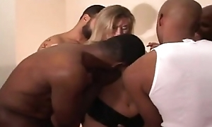 Layman white-headed seductive wanting glory in one's look out several blacks incident instalment scene instalment porno sexe