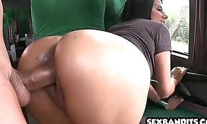 Powered latin hottie soul mate receives what this explicit desires 04
