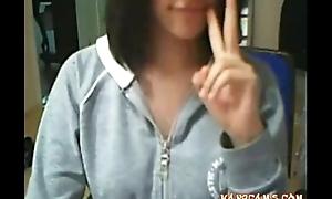 Asian openwork camera skulduggery non-professional sickly hotties shows soaking hole