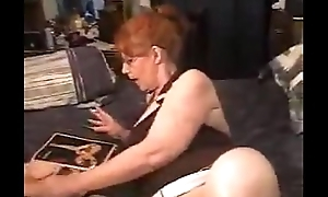 Old woman finds daughter porn cache