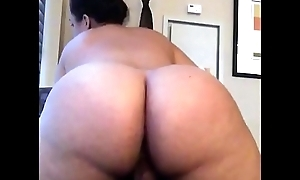 Pawg love riding my strapon