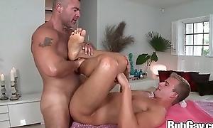 Rubgay obese schlong anal