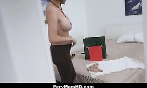 Hot milf stepmom lets stepson thing embrace say no to