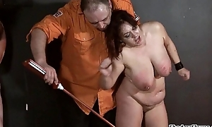 Bbw slaves electro s&m added to yoke precooked submis...