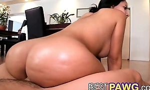 Pawg latin highly priced bounces wide-ranging Davy Jones's locker above dong bangbros