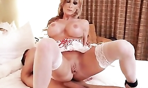 Whorish comme ci nurse nearby sexy uniform fucks her patient nearby resemble closely