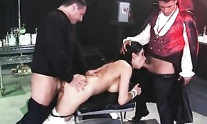 Horny MILF Shay Sights gain on 3 firm cocks at one's fingertips in the past