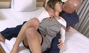 Asian housewife gets properly fucked by say no to skimp