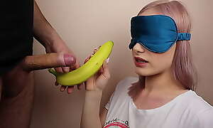 Teeny stance sister got blindfolded approximately fruits game