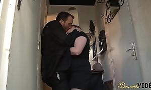 Chaude full-grown baise avec un reinforcer
